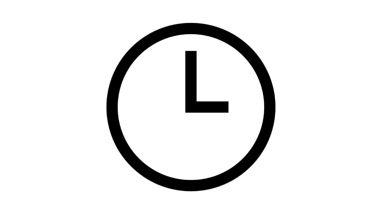 時鐘的圖像; 圖片使用於滙豐台灣滙豐個人信用貸款的頁面。