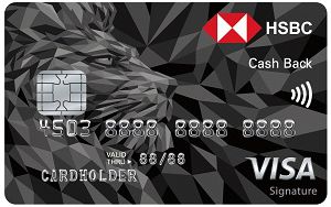 HSBC Cashback Signature Card
